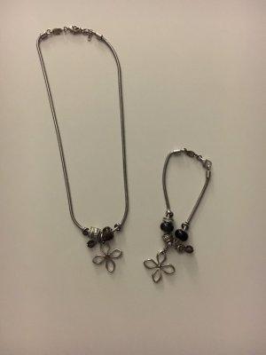 Set Halskette und Armband