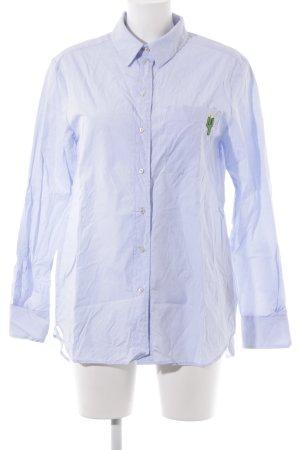 Set Hemd-Bluse himmelblau Casual-Look