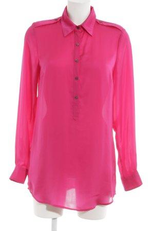 Set Hemd-Bluse magenta Business-Look