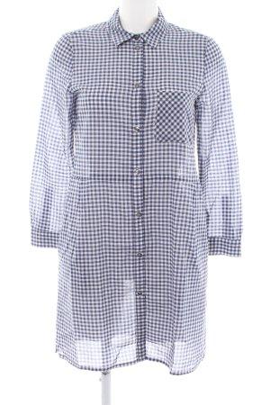 Set Shirtwaist dress blue-white business style