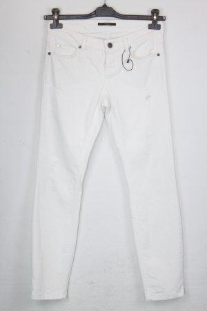 SET Hose Jeans Gr. 36 weiß, Slim Jeans (18/4/209)