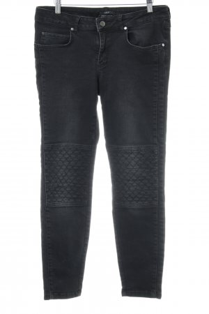 Set Low Rise jeans zwart straat-mode uitstraling