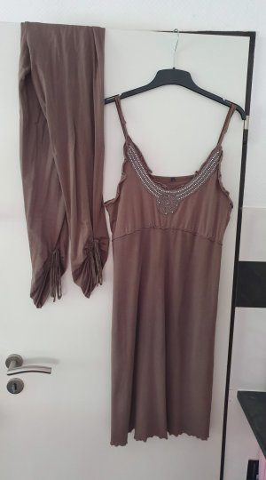 Isla Ibiza Tunic Dress taupe