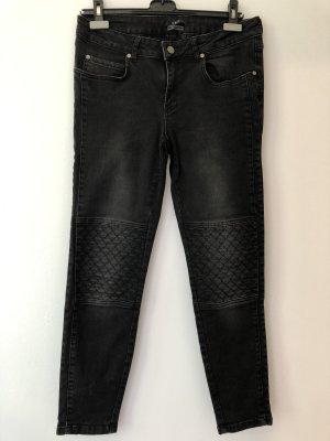 Set Jeans taille basse noir