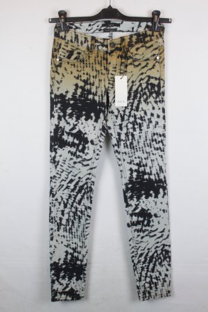 SET Jeans Low Rise Straight Leg Gr. 34 batik Muster NEU mit Etikett (18/2/171/R)