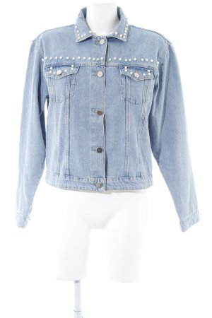 Set Jeansjacke blau Casual-Look