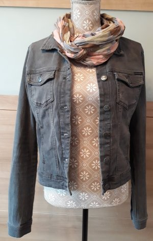 Set - Jeansjacke & Loop