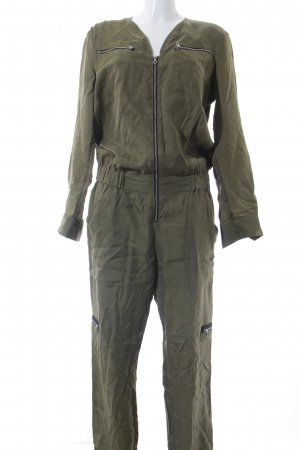 Set Jumpsuit olivgrün Casual-Look