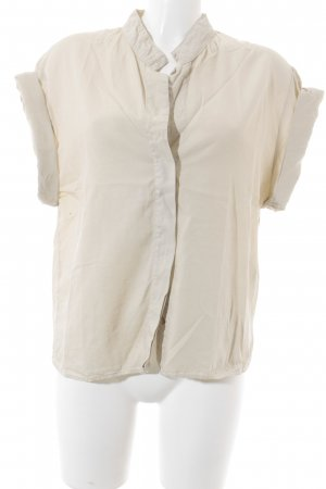 Set Kurzarm-Bluse beige Casual-Look