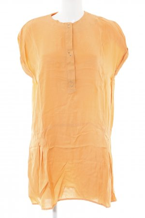 Set Kurzarm-Bluse orange Casual-Look