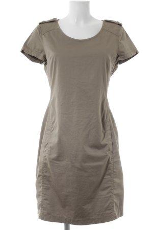 Set Kurzarmkleid beige Street-Fashion-Look