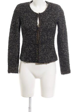 Set Short Jacket light grey-black flecked business style