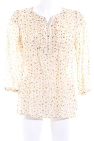 Set Langarm-Bluse florales Muster Casual-Look