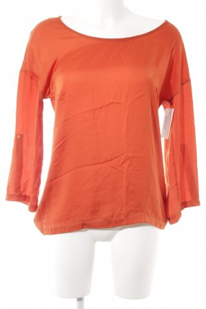 Set Langarm-Bluse neonorange Casual-Look