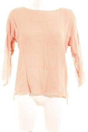 Set Langarm-Bluse rosé Elegant