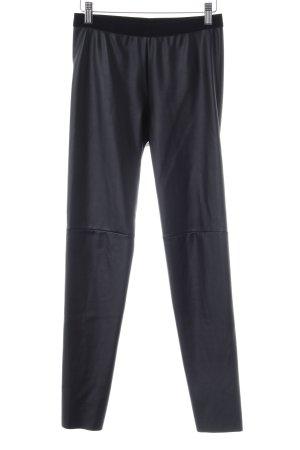 Set Pantalon en cuir noir style urbain