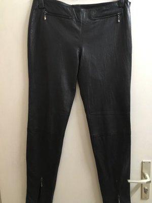 Set Pantalón de cuero negro Cuero