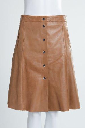 Set Falda de cuero multicolor Cuero