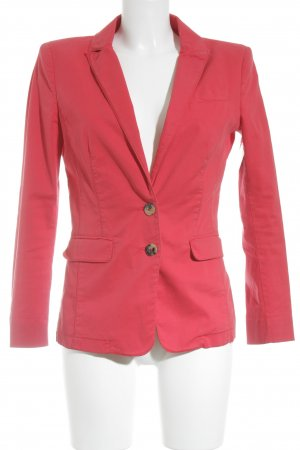 Set Blazer largo rojo claro estilo «business»
