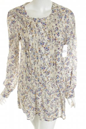 Set Long-Bluse florales Muster Casual-Look