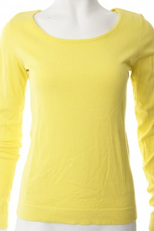 Set Longsleeve gelb schlichter Stil
