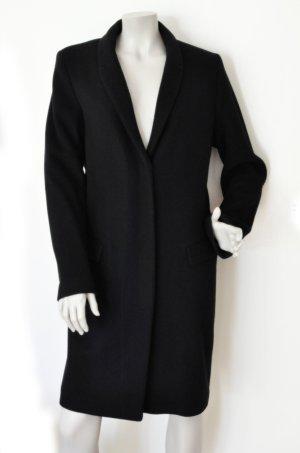 Set Abrigo de lana negro