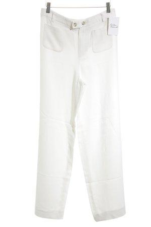 Set Pantalón anchos blanco puro estilo «business»