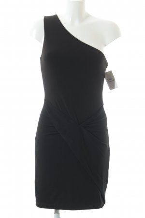 Set One-Shoulder-Kleid schwarz Elegant