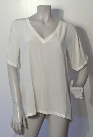 Set Blusa taglie forti bianco sporco-crema