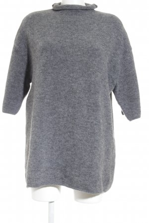 Set Oversized Pullover grau Casual-Look