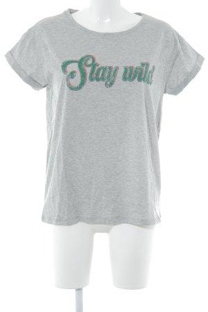 Set Camiseta estampada estampado temático look casual