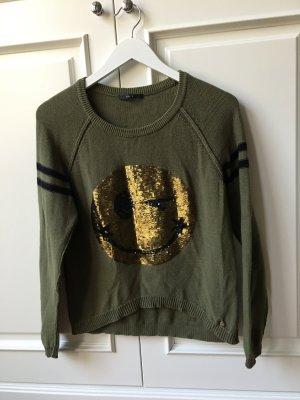 Set Pullover grün/Khaki 34