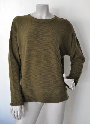 SET Pullover mit Kaschmir khaki Gr. 40 UNGETRAGEN mit Etikett