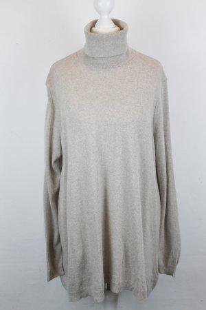 SET Rollkragen Pullover Gr. 36 beige NEU