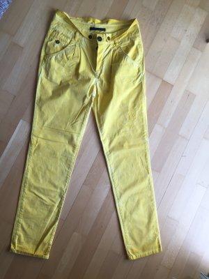 Set Pantalone chino giallo