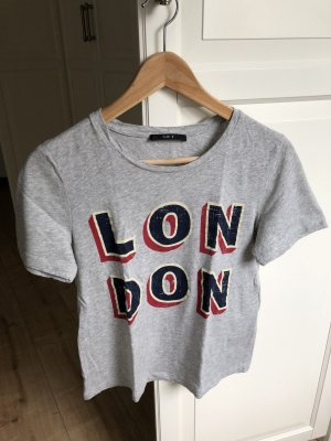 Set Shirt grau London Größe 34 NEU