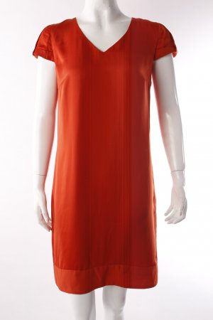 Set Shirtkleid rot-orange