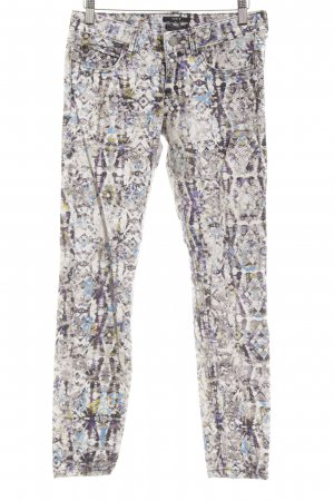 Set Skinny Jeans abstract print extravagant style