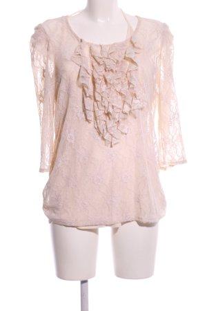 Set Lace Blouse cream elegant