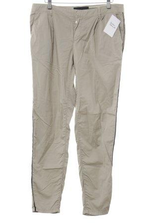 Set Stoffhose beige-schwarz Safari-Look