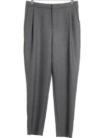 Set Stoffen broek grijs casual uitstraling