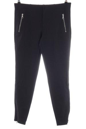 Set Stretch broek zwart casual uitstraling