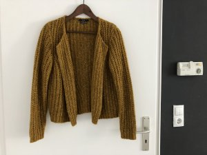 Set Coarse Knitted Jacket multicolored