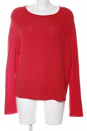 Set Strickpullover rot Casual-Look