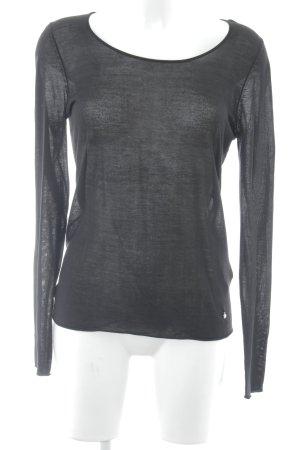 Set Gebreide trui zwart casual uitstraling
