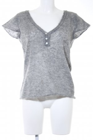 Set Knitted Jumper grey casual look