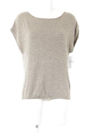 Set Camisa tejida marrón grisáceo look casual
