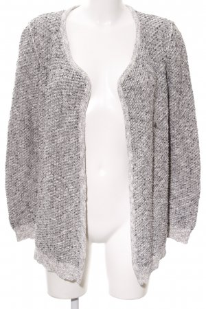 Set Smanicato lavorato a maglia grigio chiaro stile casual