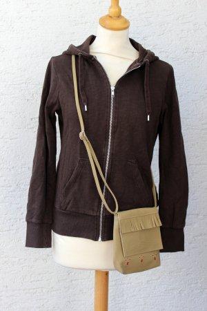 SET Sweatshirtjacke mit Kapuze + Tasche