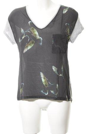 Set T-Shirt Animalmuster Casual-Look
